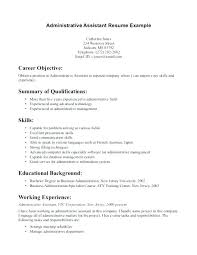 Resume Canada Example Template Sample Examples Government Cv
