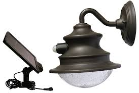 Amazon.com : Gama Sonic Barn Solar Outdoor LED Light Fixture ... Design House 519504 Mason 1 Light Wall Oil Rubbed Bronze Urban Barn 11 14 High Inoutdoor Outdoor Above Garage Crustpizza Decor Exterior Lights Factorylux With Gooseneck Arm 18 Shade Warehouse Sconce B1 By Hi Bring Historic Touch To Conchstyle Home Lighting Fixtures Ideas Glass Unique Carson Mount Rejuvenation Allpro Vapor Tight Haymow Fixture Vt100g Do It Best