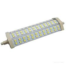 led halogen replacement 13w bulb 60 leds floodlight pir security