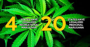 states pot is on 4 20 2016 four states recreational marijuana and