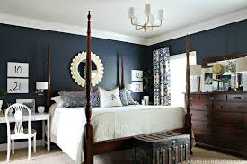 BedroomSophisticated Blue Bedroom Decor For Amazing Look Classy Dark Master Design Ideas