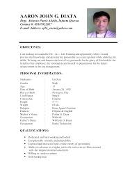 Example Resume Objective For Entry Level Position Sample Objectives In Career Com Students