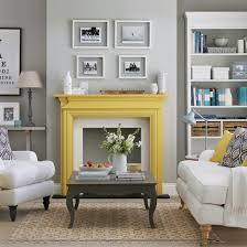 Grey And Yellow Living Room Ideas DACcor Inspiration