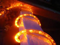 12V Orange LED Rope Light Kit