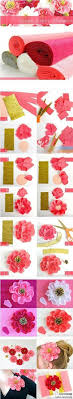 Inspirational Monday Do It Yourself Diy Flower Series Crepe Paper Tutorial