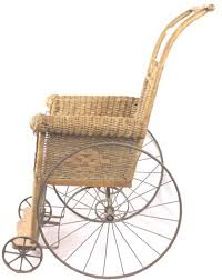 Heywood Wakefield Chair Identification by 19th Heywood Brothers Wicker Wheelchair
