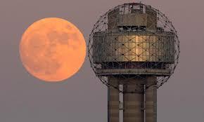 First Supermoon of the 2018 Wolf Moon light up skies tonight