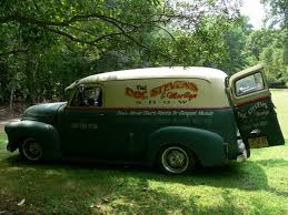 Doc Stevens' Barn Find 51 Chevy Panel Truck. Channeled Over Full ...
