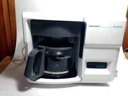 Black And Decker Under Cabinet Coffee Maker Lot Of Group Including