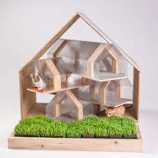 Pottery Barn Dog Bed by 14 Inspiring Custom Built Modern Cat Houses Revealed At La