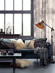 use floor ls in your industrial style living room