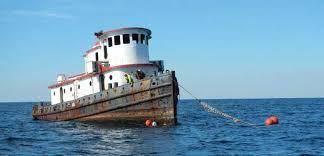 Tug Boat Sinks by Northwest Reefs U0026 Shipwrecks Florida Go Fishing