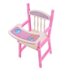 Lifelike Baby Doll High Chair For 9