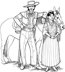 Southwestern Native American 5 Coloring Page Click To Print Image Only Without Ads