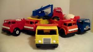 100 Gay Trucks Toys Inc American Plastic Toys Truck Lot 1970s YouTube