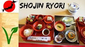 cuisine 3000 euros shojin ryori for the traditional japanese plant