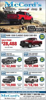 100 Ram Truck Dealer Month Ad Vault Tdncom