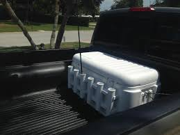 Fishing Rod Holder Cooler - PicsAnt | Fishing | Pinterest | Fish And ... Homemade Rod Holders For Back Of Truck Page 2 The Hull Truth Fishing Rack Truck Bed Best Fish 2018 Over Tailgate Holder Plattinum Products Custom Yangler White Ford Ranger Forum Pinterest Pole Roof Mounts Cosmecol Rocket Launcherin Bed Mount Boating Tundratalknet Toyota Tundra Discussion Racks For Trucks And