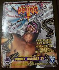 Wcw Halloween Havoc by Wcw Halloween Havoc 1992 Poster 16x20 Sting Jake The Snake Wwe Wwf
