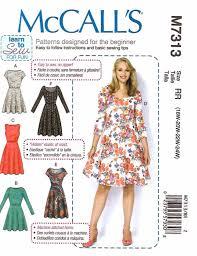mccall u0027s sewing pattern 7313 womens plus sizes 18w 24w easy