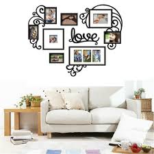 DIY 7PCS Love Photo Picture Frame Kit Collage Gallery Wall Home Decor