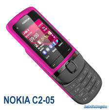 The new Nokia C2 05 phone is equipped with a media player for MP3 and MP4 files as well as an FM radio with a recorder built in