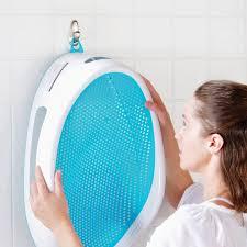 siège bébé bain transat de bain angelcare bleu baignoire et transat de bain
