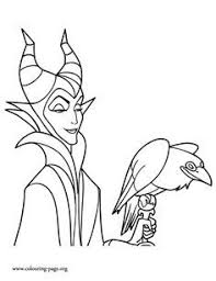Disney Villains Coloring Pages Maleficent 0