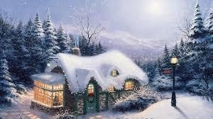 Thomas Kinkade Christmas Tree Cottage by Landscape Thomas Kinkade Silent Night Painting Pattern Christmas