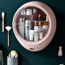 details zu wand make up organizer kosmetik aufbewahrung kosmetikbox sortierkasten bad de