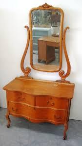 curly tiger birdseye maple dresser w mirror