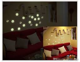 light luminous wall stickers diy home decor decoration wall