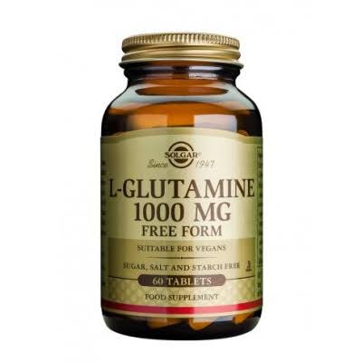 Solgar L-Glutamine Dietary Supplement - 1000mg, 60 Tablets