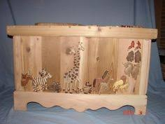 image result for personalized toy box arrows and animals nursery
