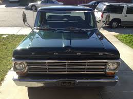 100 1969 Ford Truck For Sale F250 Camper Special