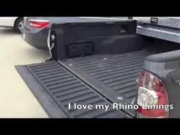 rhino liner say yes and you will not regret it truck bed liner