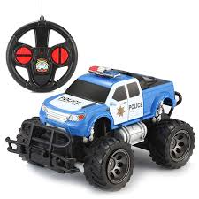 100 Monster Trucks Rc Amazoncom Joyin Toy RC Remote Control Police Car Truck
