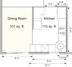 Gallery Of Kitchen Floor Plans With Diions Trends Island Layout Dimensions Pictures Restaurant Uotsh