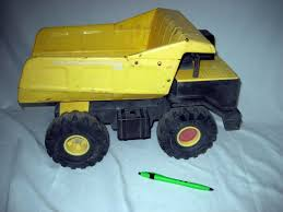 Vintage Tonka Dump Truck, Metal Dumper, Plastic & Metal Body, 16