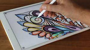 This Adult Coloring Book App Will Help You Stay Relaxed And Focused