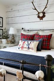 Savvy Southern Style Christmas Cabin Guest Room Tour And Giveaway