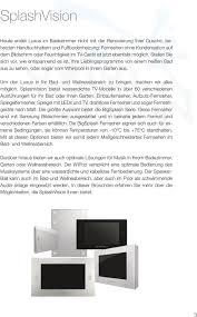 einbau tv wasserdichtes einbau tv pdf kostenfreier
