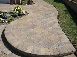 Menards Patio Paver Patterns by How To Install A Paver Patio Within Pavers Breathingdeeply