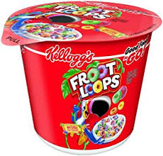 Fruit Loops Is A Brand Of Sweetened It Flavored Cereal Produced By Kelloggs Has Bird On Their Box Named Toucan Sam And