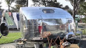 100 Antique Airstream Pismo Beach Vintage Trailer Show 2011 YouTube