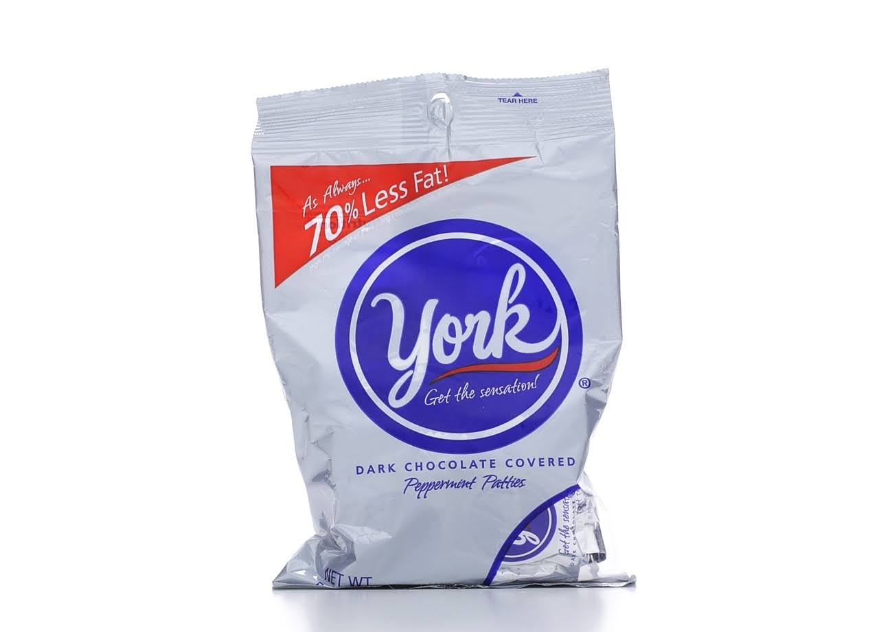 York Dark Chocolate Covered Peppermint Patties - 5.3oz