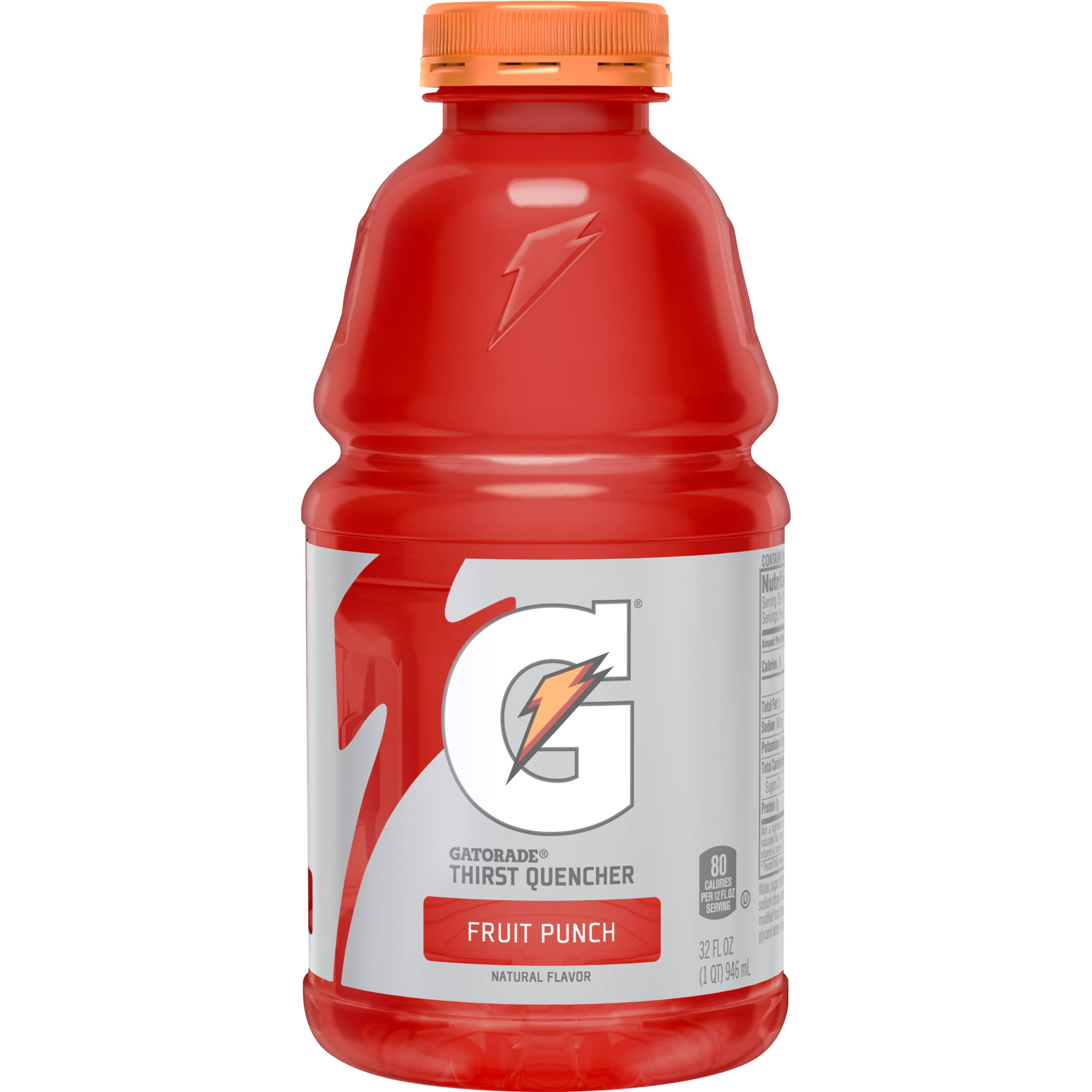Gatorade Thirst Quencher - Fruit Punch, 32oz