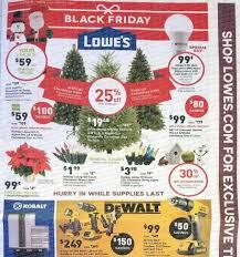 Christmas Tree Shop Flyer by Lowe U0027s Black Friday 2016 Predictions Blackfriday Fm