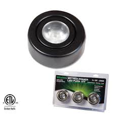 12vdc 3w dimmable puck lights gm lighting