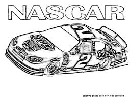 Nascar Coloring Pages 24
